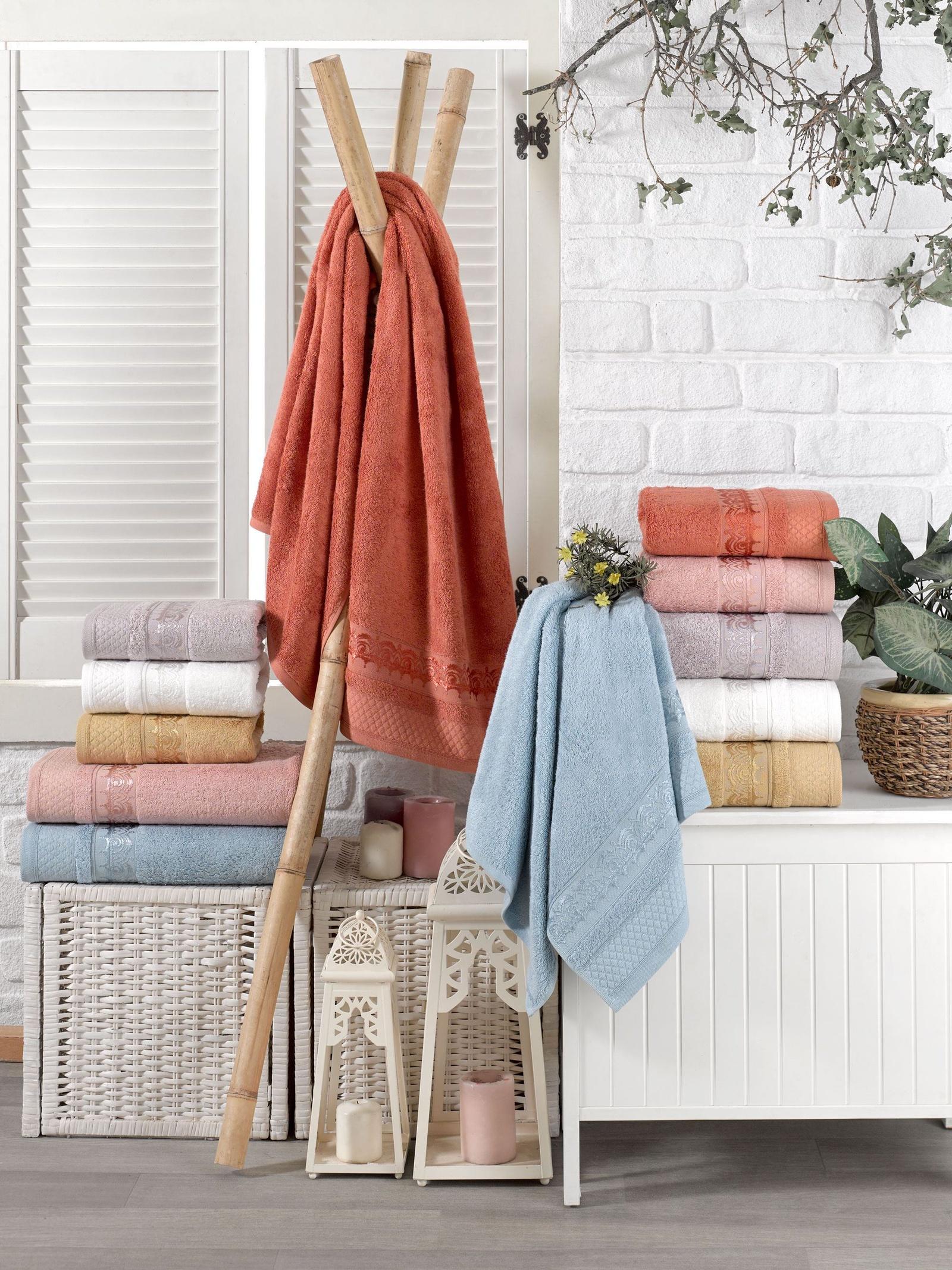 Полотенце Dо&Cо Бамбук Azur 10198, 50 х 90 см полотенца do