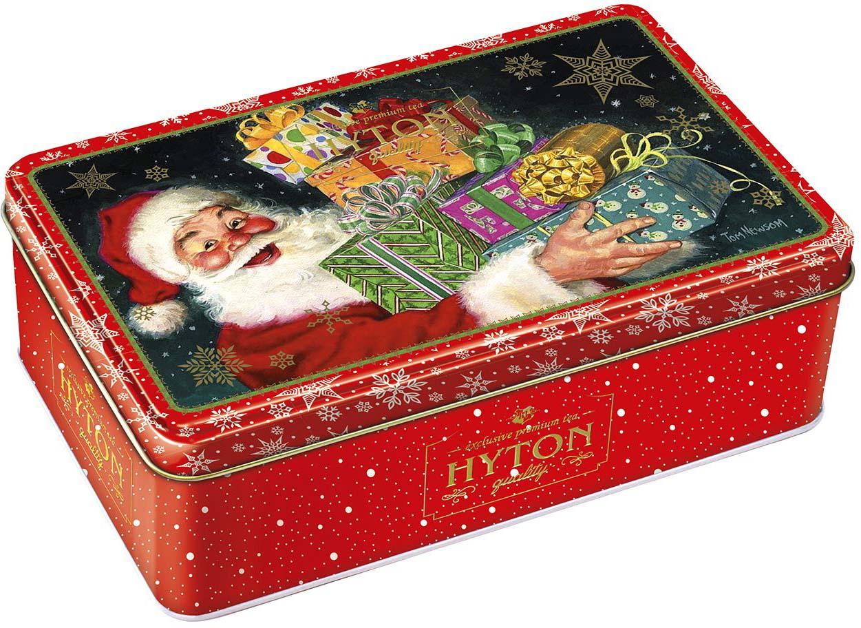 Чай черный Hyton Шкатулка новогодняя Подарки от Санты, 150 г