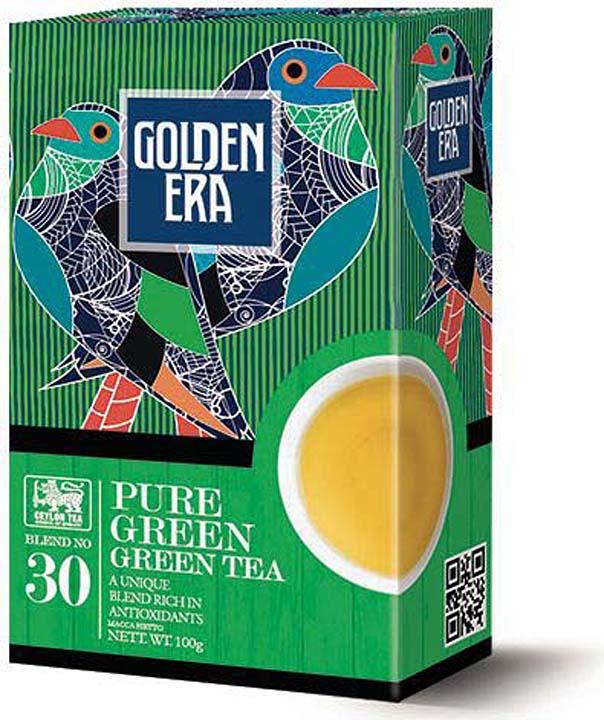 Чай зеленый Golden Era Ceylon Pekoe, 100 г чай susan среднелистовой черный pekoe 100г