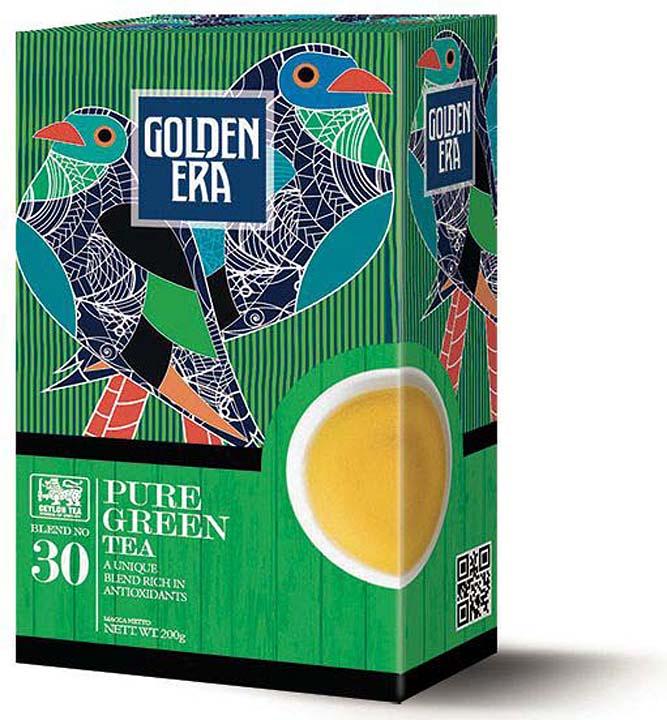 Чай зеленый Golden Era Ceylon Pekoe, 200 г чай susan среднелистовой черный pekoe 100г