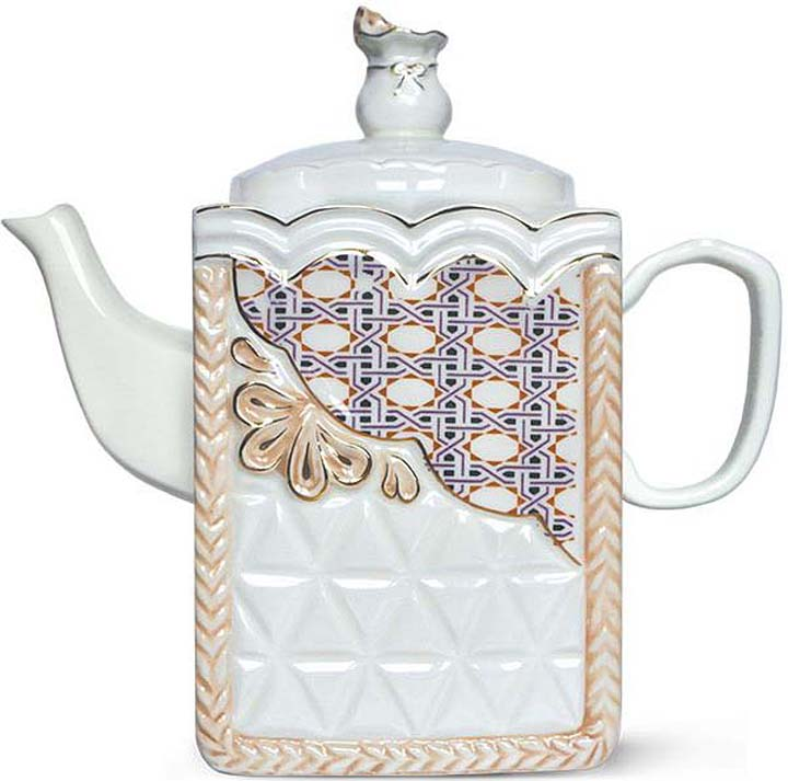 Чай черный Hyton Керамический чайник Ренессанс, 80 г ручной работы с деревом керамические портативный китай gongfu чай кубок чайник путешествия set