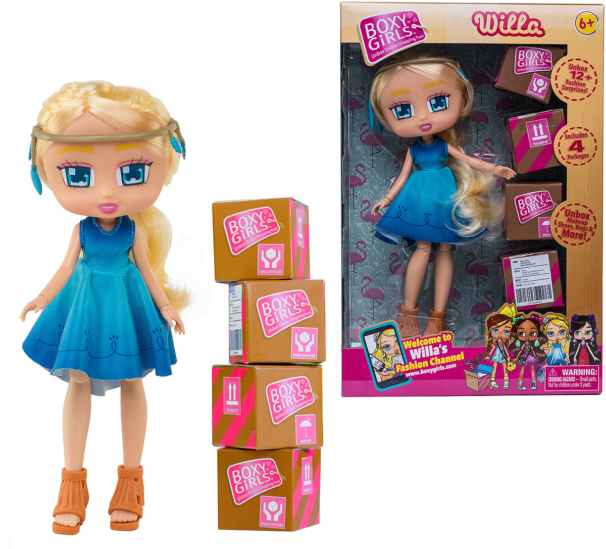 Кукла 1TOY Boxy Girls Willa, Т15107