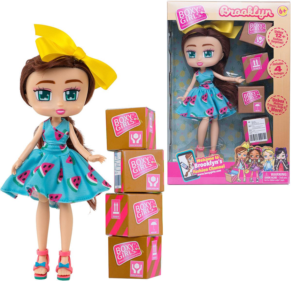 Кукла 1TOY Boxy Girls Brooklyn, Т15108