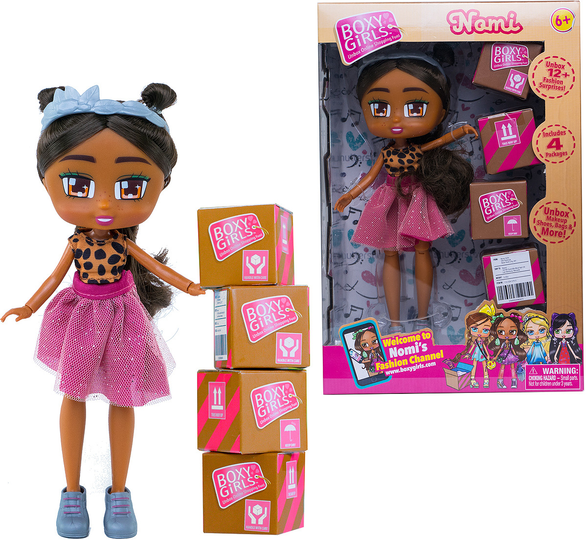Кукла 1TOY Boxy Girls Nomi, Т15110