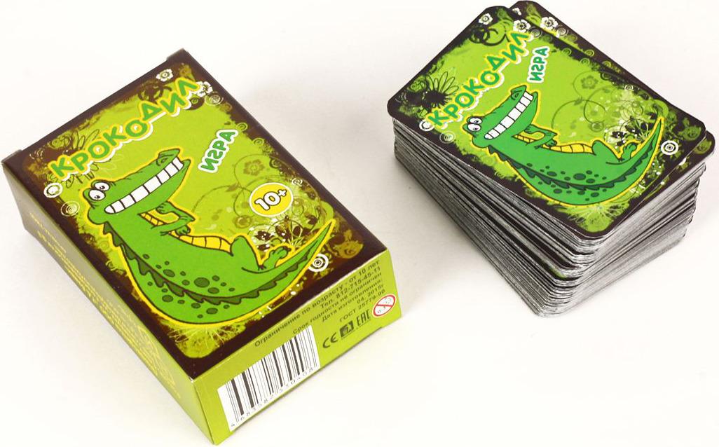Нескучные игры Настольная игра Крокодил цена