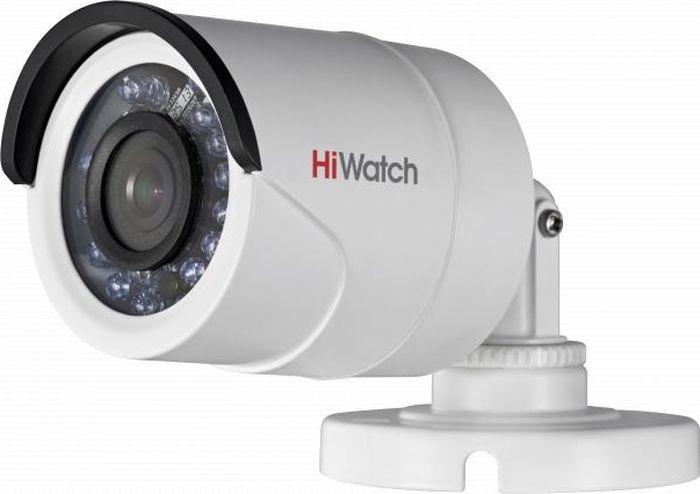 IP видеокамера Hiwatch DS-I120, 1252472, 4 мм ip камера hiwatch ds i122 4 mm 1 3мп уличная купольная мини ip камера ик подсветкой до 15м 1 3 cmos матрица объектив 4мм угол обзора 73 1° ме