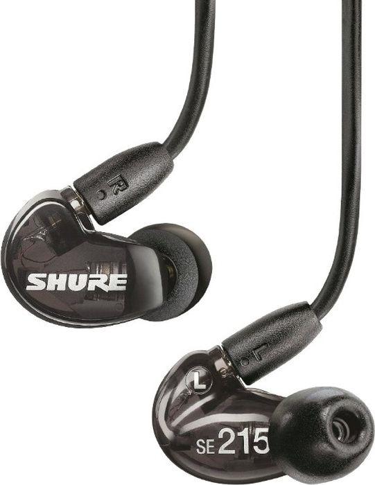 Наушники Shure SE215-K, черный