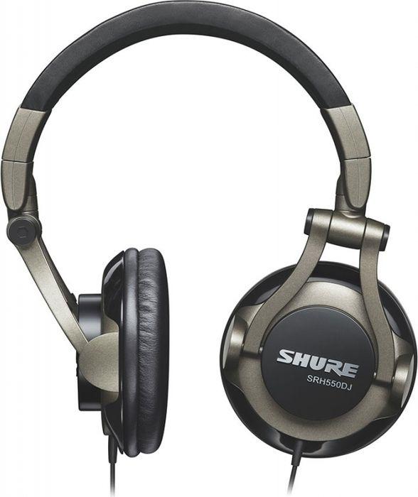 Наушники Shure SRH550DJ, темно-зеленый