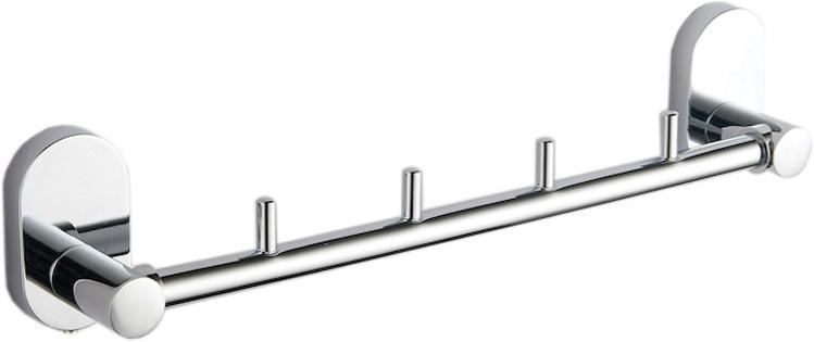 Держатель для полотенец Fora Brass BR004, серебристый держатель для полотенец fora triumf t003 серебристый длина 23 см