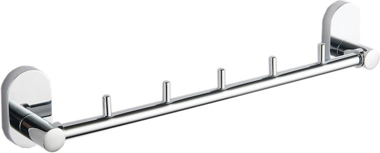 Держатель для полотенец Fora Brass BR005, серебристый держатель для полотенец fora triumf t003 серебристый длина 23 см