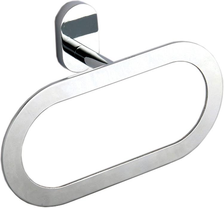 Держатель для полотенец Fora Brass Кольцо BR011, серебристый держатель для полотенец fora triumf t003 серебристый длина 23 см