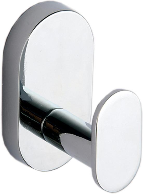 Крючок для ванной Fora Brass BR028, серебристый крючок для ванной fora triumf на присоске t053 серебристый