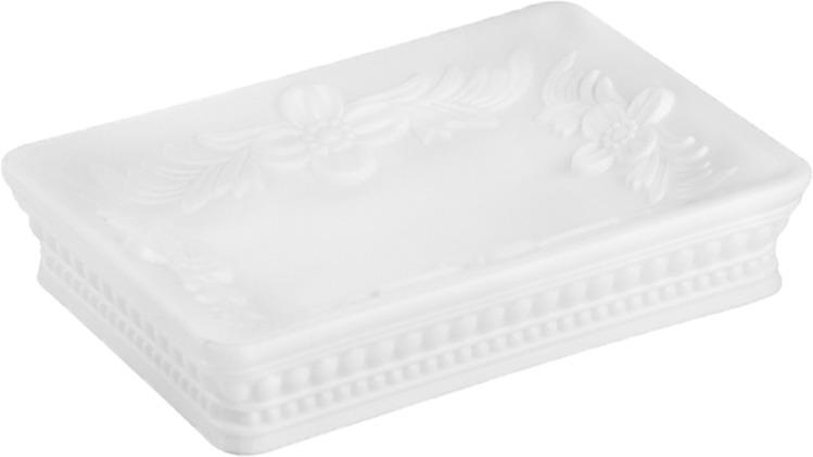Мыльница Fora Elegance FS-36W, белыйFS-36WНастольный аксессуар. Изделие выполнено из пластика, легкое, долговечное. Благодаря привлекательному внешнему виду, прекрасно впишется в любой интерьер ванной комнаты. Рекомендуем!