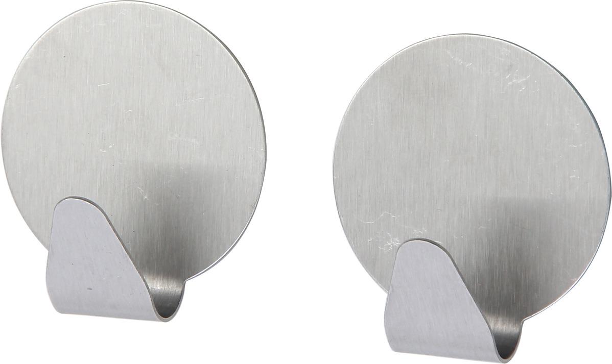 Набор крючков для ванной Fora, H20, серебристый, 2 шт набор крючков держателей viva 2 шт