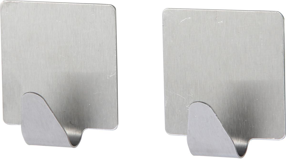 Набор крючков для ванной Fora H24, серебристый, 2 шт набор крючков держателей viva 2 шт