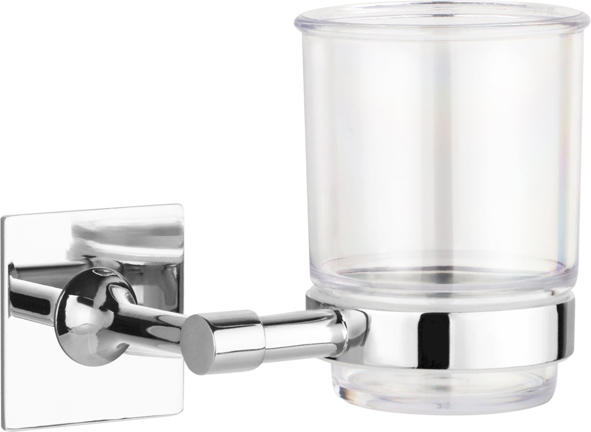 цена на Держатель стакана для ванной Kleber Expert KLE-EX044, серебристый