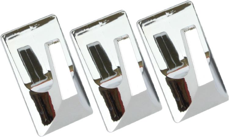 Набор крючков для ванной Kleber KLE-SG002, хром, 3 шт стоимость