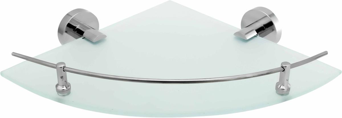 Полка для ванной комнаты Fora Long L035M, серебристый цена