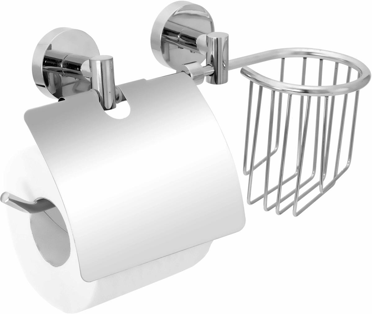 Держатель для туалетной бумаги и освежителя Fora Long L045-2