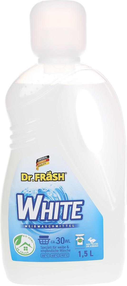 """Гель для стирки белого белья Dr.Frash """"White"""", 1,5 л"""