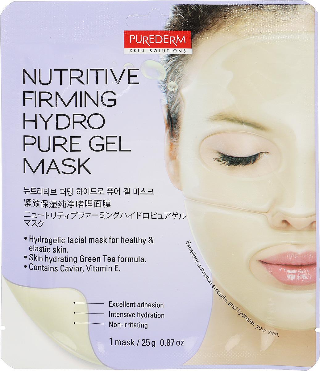 Purederm Маска гидрогелевая для укрепления и питания кожи, 25 г коллагеновая маска purederm с экстрактом кофе 18 г х 3 шт
