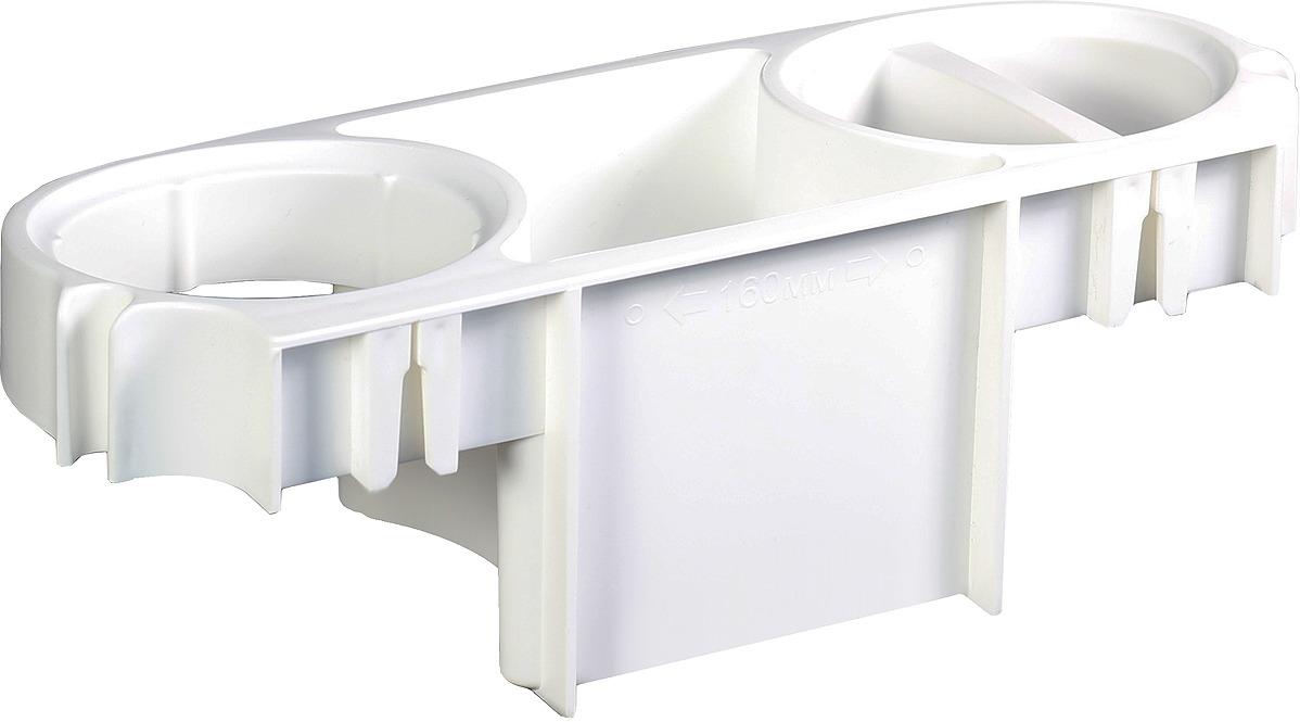 Держатель для фена Idea, М 2227, белый, 40 x 28 x 34 см
