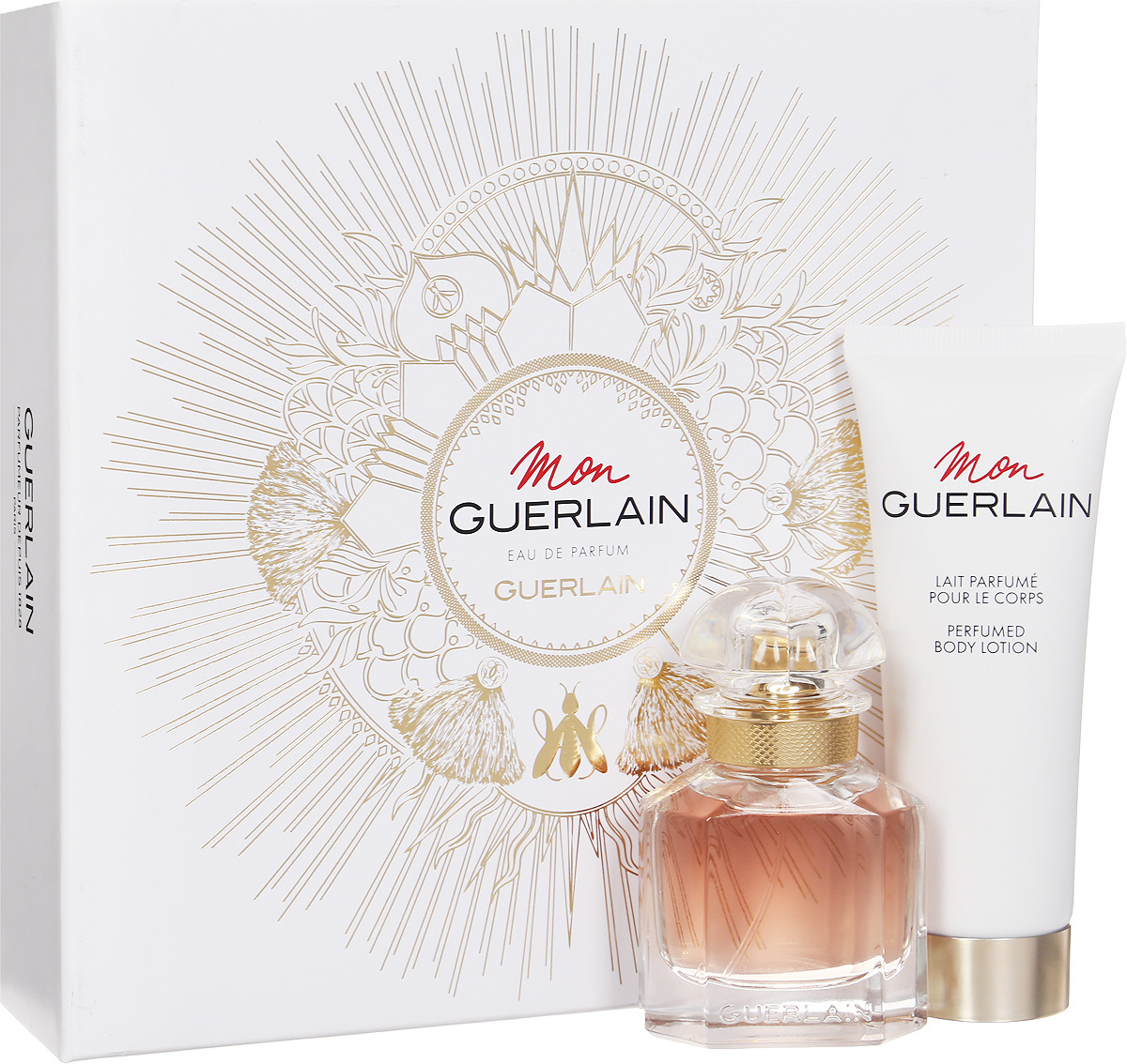 Парфюмированный набор Guerlain Mon Lady: парфюмерная вода, 30 мл + лосьон, 75