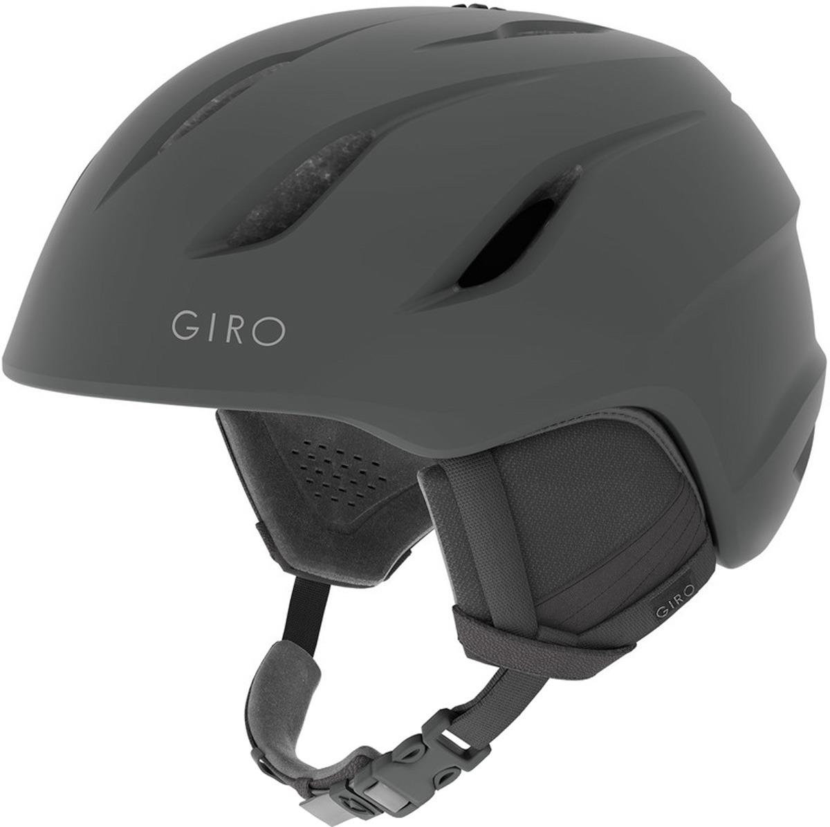 Шлем горнолыжный Giro Era женский, 7082771, серый, размер S (52-55) шлем горнолыжный giro nine 7093766 серый размер xl 62 65