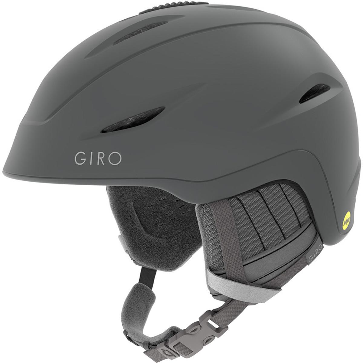 Шлем горнолыжный Giro Fade Mips женский, 7093940, серый, размер M (55-59) горнолыжный шлем giro giro era женский серый m 55 5 59cm