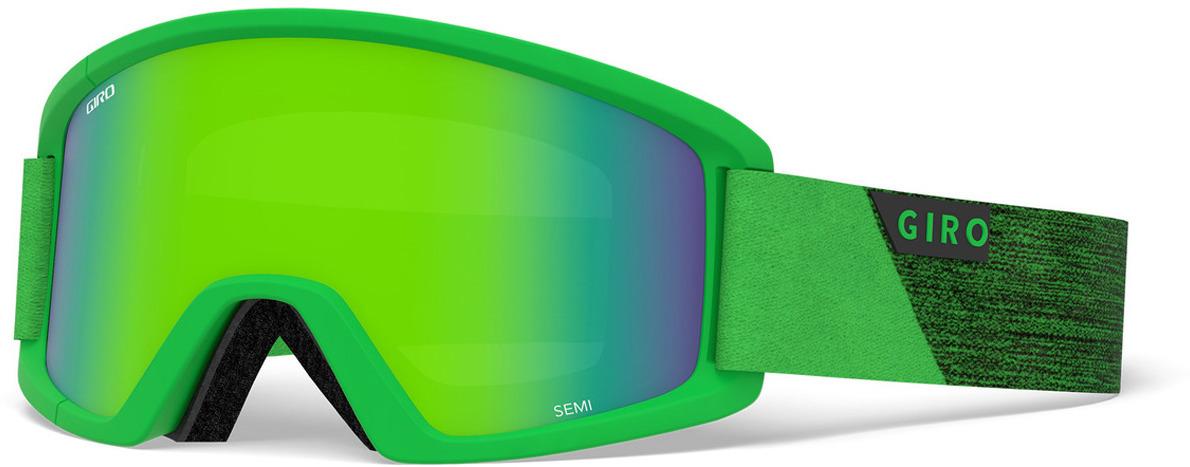 Маска горнолыжная Giro Semi, 7094437, зеленый все цены