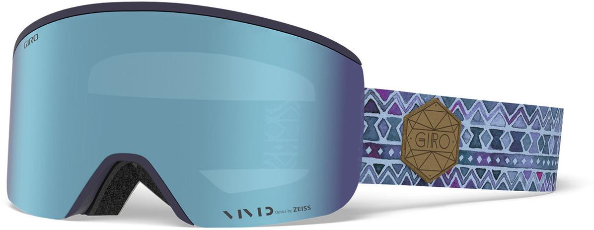 Маска горнолыжная Giro Ella женская, 7094517, голубой горнолыжная маска giro giro grade темно голубой medium
