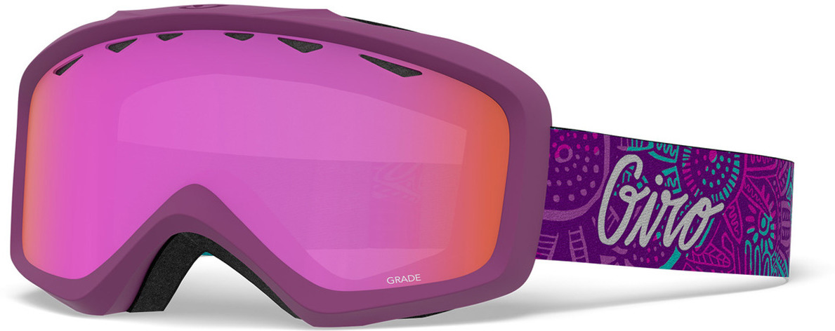 Маска горнолыжная Giro Moxie детская, 7094647, розовый горнолыжная маска giro giro chico темно голубой small