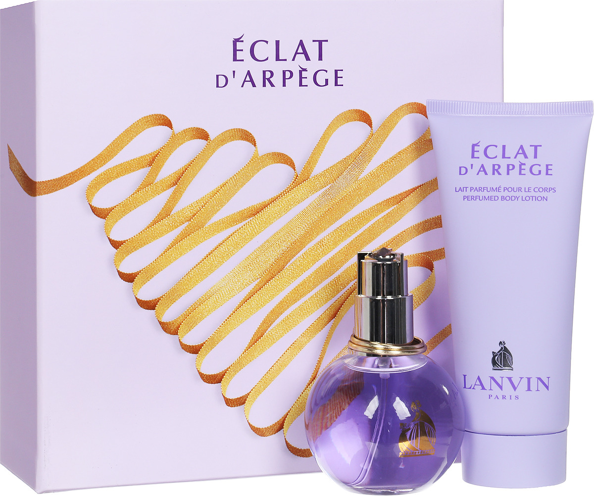 Парфюмированный набор Lanvin Eclat D'Arpege Lady: парфюмерная вода, 50 мл + лосьон, 100 мл