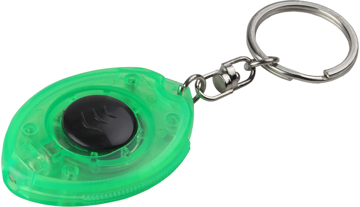 Фонарь-брелок ЭРА, B24, зеленый, LED