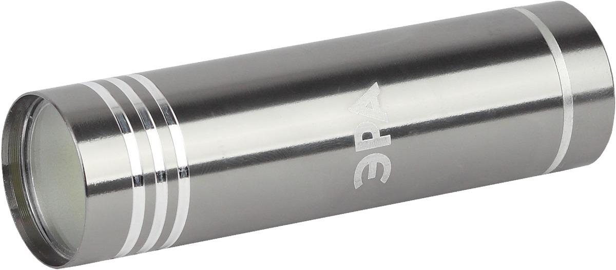 Фонарь ручной ЭРА Джет, UB-401, Б0029192, серый металлик, светодиодный, 1.5 Вт ручной фонарь эра джет ub 401 серый металлик светодиодный 1 5 вт