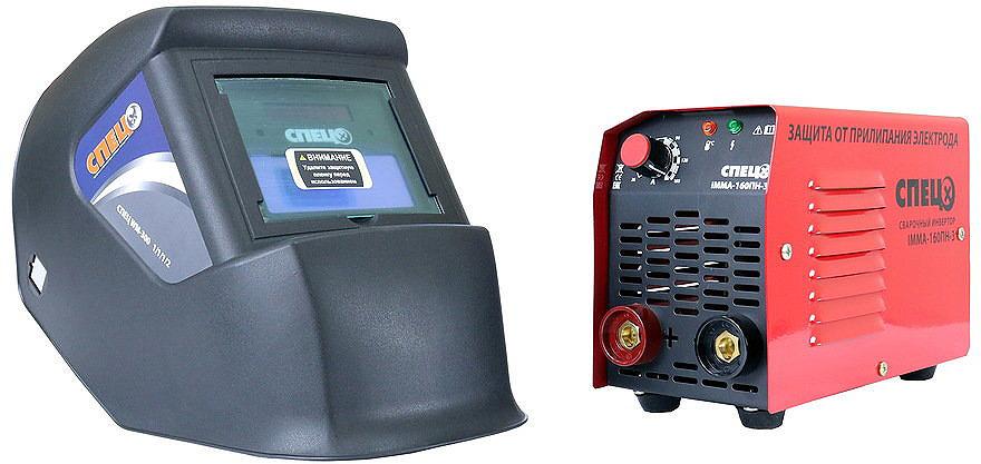 цены на Набор Спец Сварочный инвертор IMMA160ПН-3 + Маска, WM-300  в интернет-магазинах