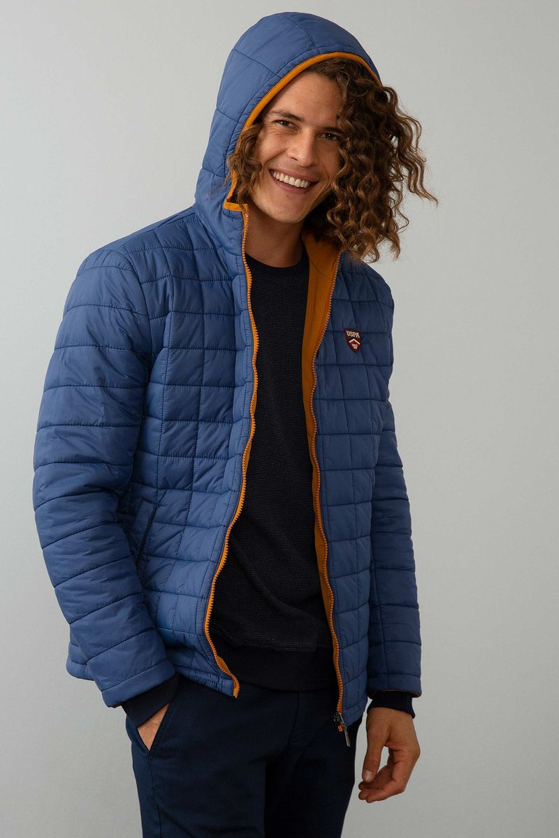 Куртка мужская U.S. Polo Assn., цвет: голубой. G081SZ0MS0OSVALD8K_VR028. Размер 56G081SZ0MS0OSVALD8K_VR028