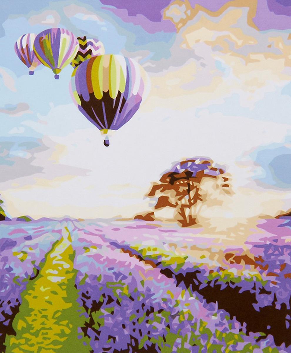 Картина по номерам Школа талантов Воздушный шар , 2461712, 30 х 40 см картина по номерам школа талантов зимний дом 1675811 30 х 40 см