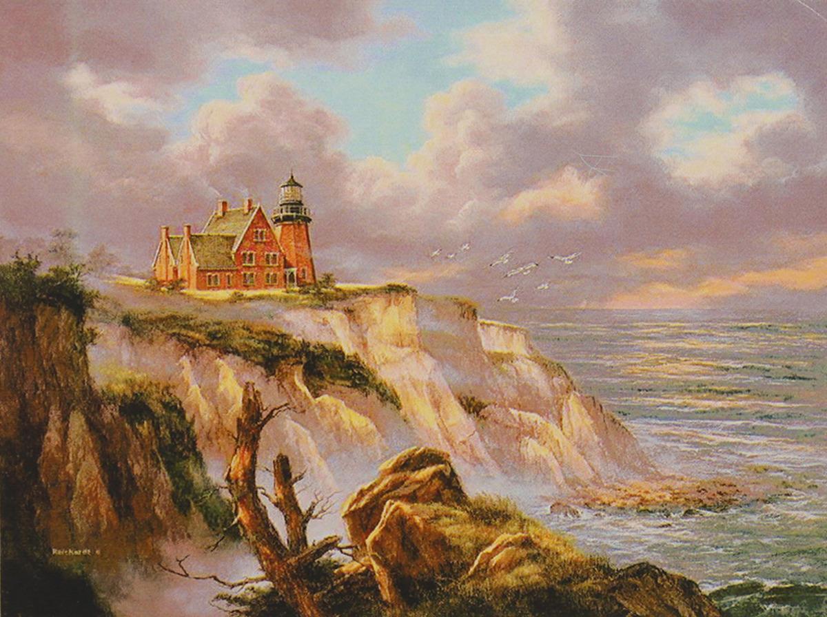 Картина по номерам Школа талантов Дом с маяком, 3462671, 30 х 40 см картина по номерам школа талантов зимний дом 1675811 30 х 40 см