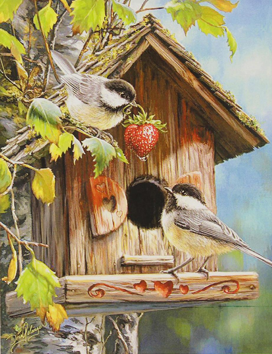 Картина по номерам Школа талантов Скворечник, 3462698, 30 х 40 см картина по номерам школа талантов зимний дом 1675811 30 х 40 см