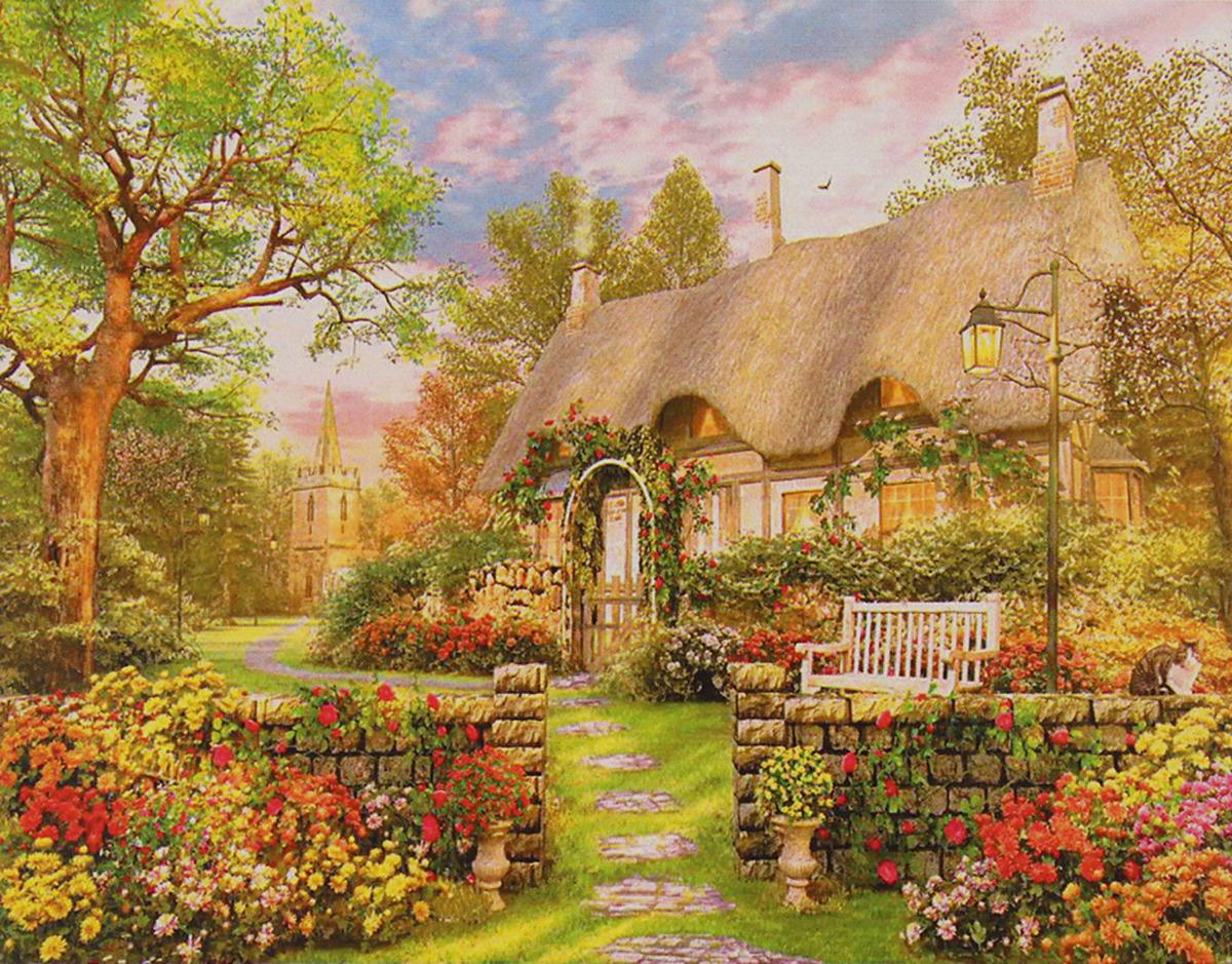 Картина по номерам Школа талантов Прелестный дом, 3462711, 30 х 40 см картина по номерам школа талантов зимний дом 1675811 30 х 40 см