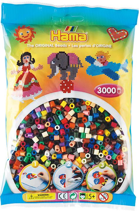 Бусинки для мозаики Hama, 201-67, 3000 шт цены онлайн