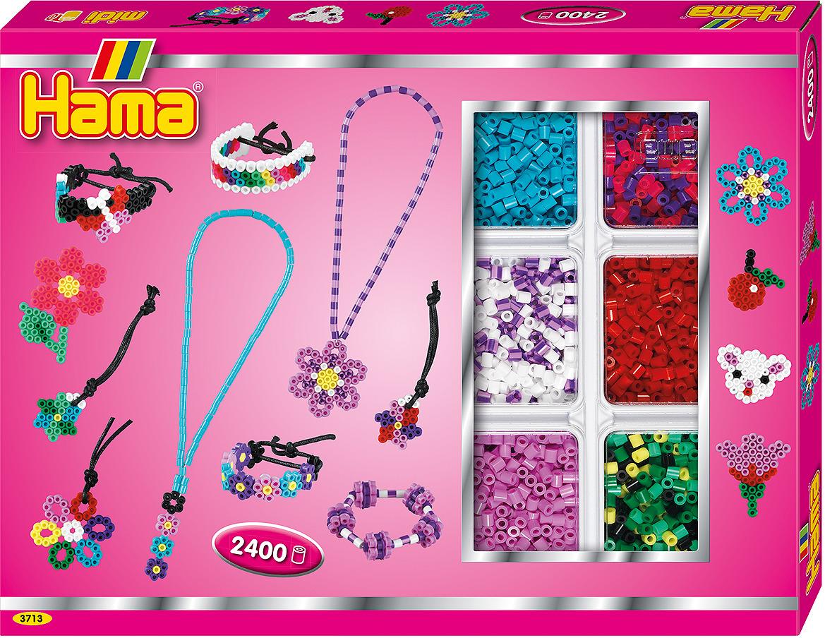 Набор Hama бусинки для мозаики, 2400 шт + 2 основы, 3713 t shirts modis m181w00855 women shirt cotton for for female tmallfs
