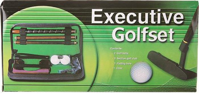 Набор для гольфа Partida, в тканевом кейсе