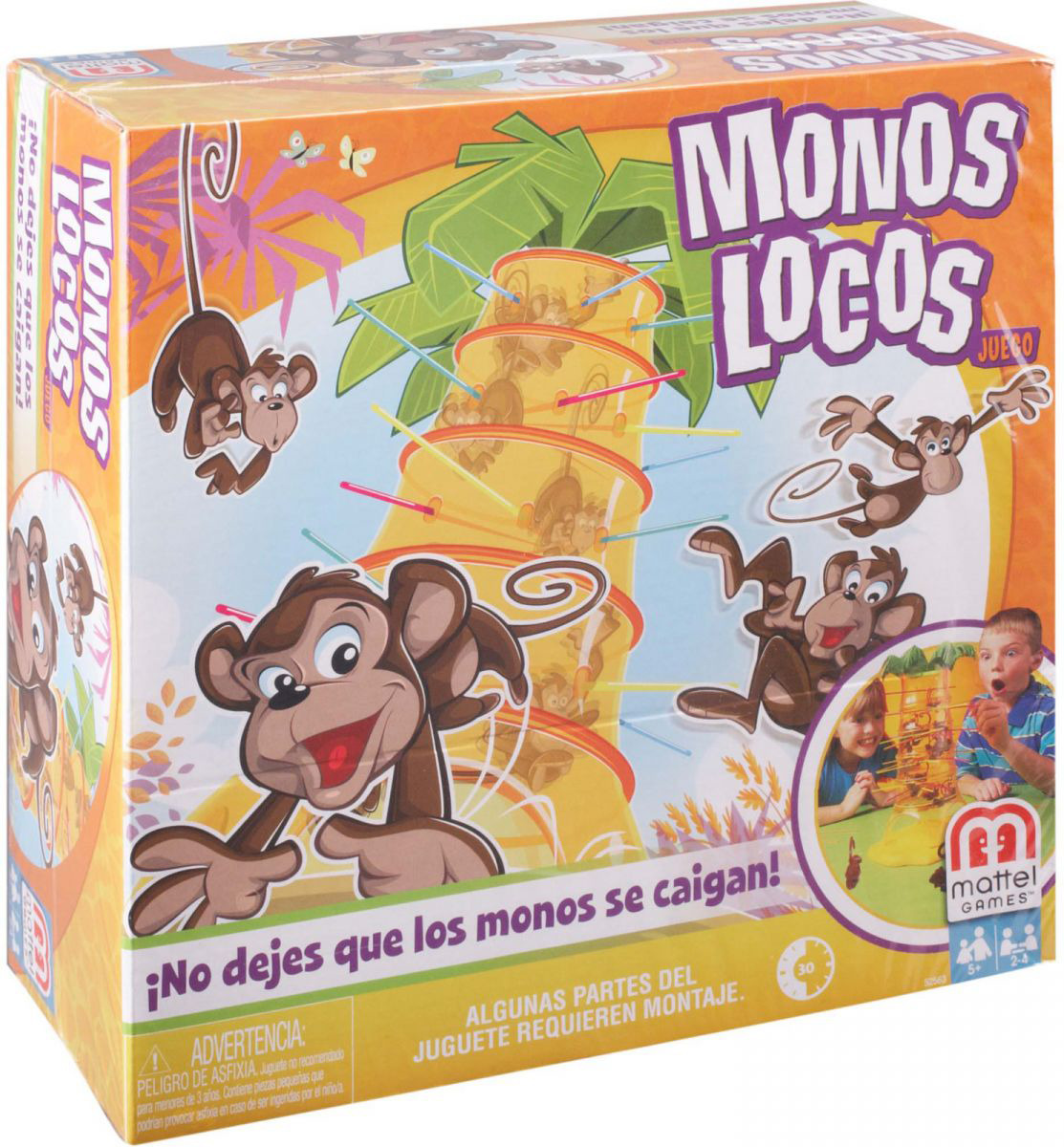 Mattel Games Настольная игра Обезьянка-акробат