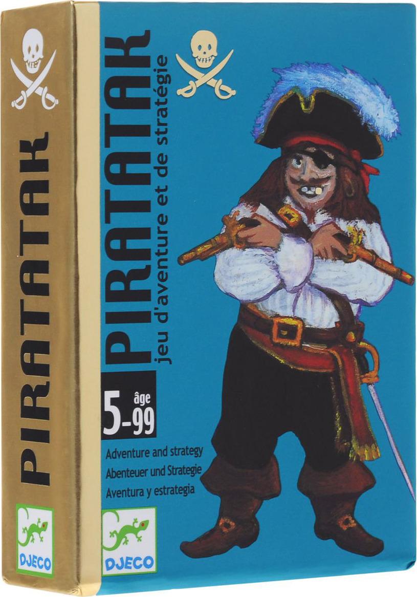 Карточная игра Djeco Пират стоимость