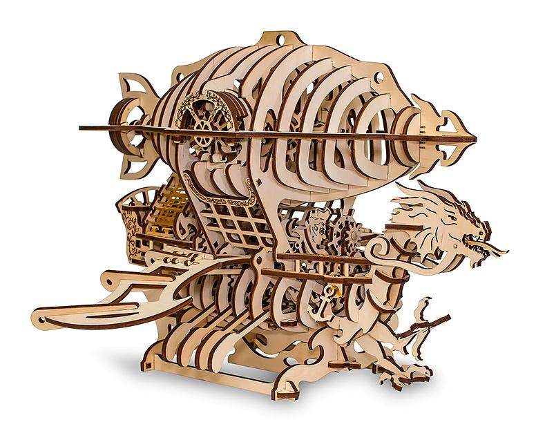 Модель-конструктор 3D Eco Wood Art Дирижабль