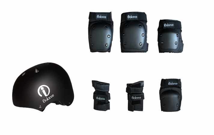 Комплект защиты iBalance, iBS, L гироскутер ibalance prem wm всесезонный blue fire ib 105aw009