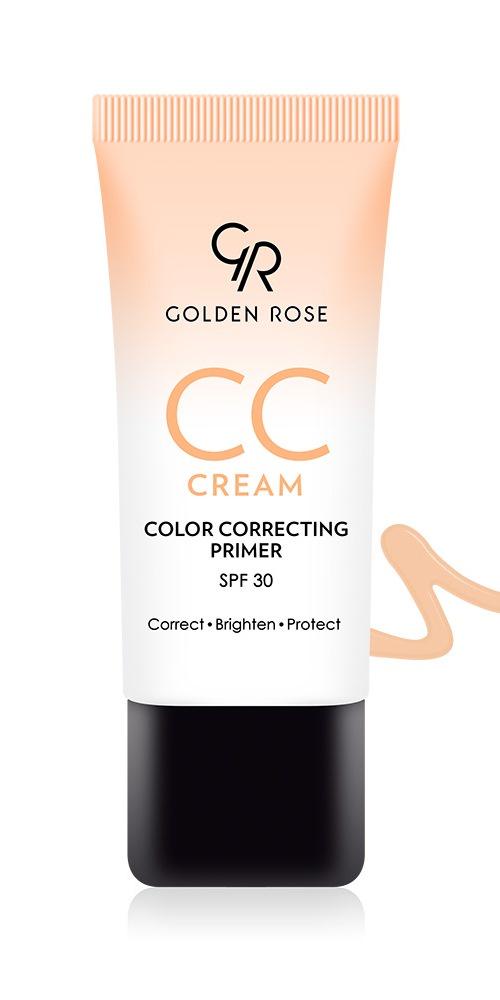 Корректирующий праймер Golden Rose CC cream, 50 г тональные кремы иллозур праймер yllozure сокращающий поры тон 12