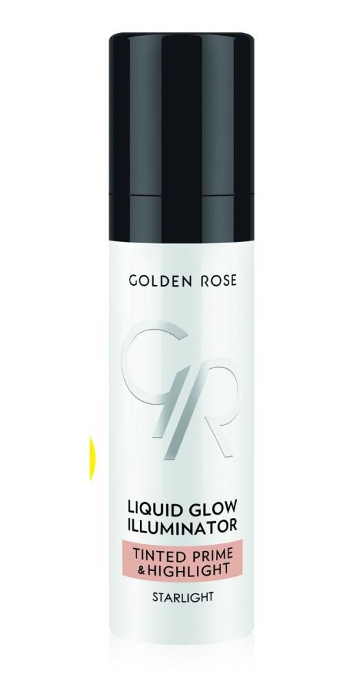 База под макияж хайлайтер Golden Rose Liquid Glow, 30 г jd коллекция crystal rose музыка база